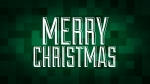 Christmas Pixels - Green: Merry Christmas