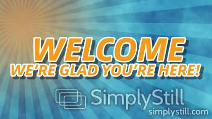 Summer Rays: Welcome Worship Slide