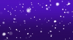 Snow Fall: Purple
