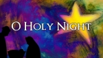 O Holy Night Watercolor Star