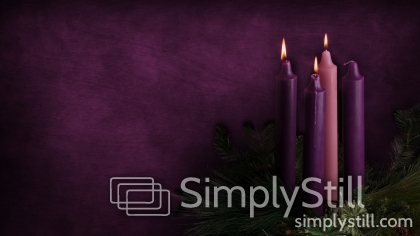 advent candles week 3 background simply still. Black Bedroom Furniture Sets. Home Design Ideas