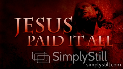 Jesus Paid It All Worship Slide