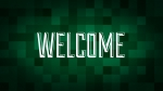Christmas Pixels - Green: Welcome