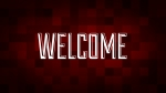 Christmas Pixels - Red: Welcome